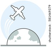 overflight   infographic icon...