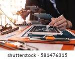 business team meeting. photo... | Shutterstock . vector #581476315