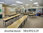Small photo of Ammon, Idaho, USA Oct. 20, 2014 A classroom in a newly constructed elementary school.
