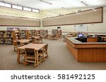Small photo of Ammon, Idaho, USA Oct. 20, 2014 The library in a newly constructed elementary school.