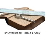 handbook of mathematics ... | Shutterstock . vector #581517289