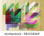 arrow pattern texture   Shutterstock .eps vector #581518369