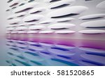 Abstract Dynamic Interior With...