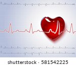 Vector Illustration Of Heart...