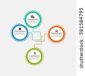 infographic elements | Shutterstock .eps vector #581584795