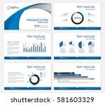 template presentation slides... | Shutterstock .eps vector #581603329