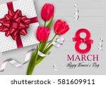 elegant background on... | Shutterstock .eps vector #581609911