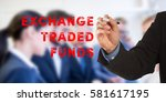 exchange traded funds  male... | Shutterstock . vector #581617195