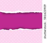 8 march international womens... | Shutterstock .eps vector #581623909