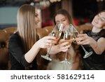 holidays  nightlife ... | Shutterstock . vector #581629114