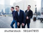 portrait of friends having fun...   Shutterstock . vector #581647855