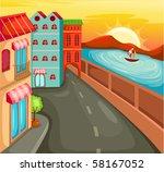 illustration of cartoon... | Shutterstock . vector #58167052