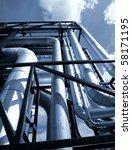 industrial zone  steel... | Shutterstock . vector #58171195