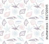 hand drawn vector illustrations ...   Shutterstock .eps vector #581720545