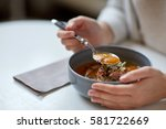 food  new nordic cuisine and... | Shutterstock . vector #581722669