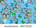 butterfly | Shutterstock .eps vector #58173310