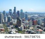 seattle skyline   Shutterstock . vector #581738731