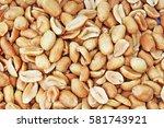 Peeled Peanuts Background Foo...