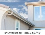 house with new seamless... | Shutterstock . vector #581756749