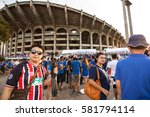 thailand vs vietnam fifa world... | Shutterstock . vector #581794114
