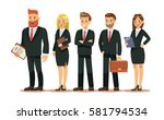 set of people characters for... | Shutterstock .eps vector #581794534