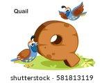 wooden textured bold font... | Shutterstock .eps vector #581813119
