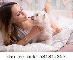 best friends  | Shutterstock . vector #581815357