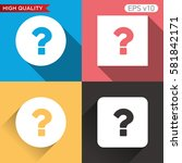 button with question icon....