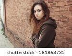 sad teen girl introvert girl
