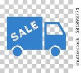 sale van vector pictogram....   Shutterstock .eps vector #581893771