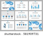 page layout template for... | Shutterstock .eps vector #581909731