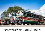 antigua guatemala  dec 25 2015... | Shutterstock . vector #581924515