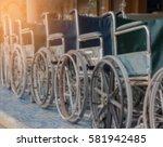 Blurred Background Wheelchair...