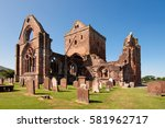 sweetheart abbey  dumfries and... | Shutterstock . vector #581962717