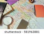 vinnitsa  ukraine   january 18  ... | Shutterstock . vector #581963881