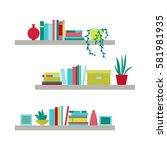 vector illustration. the... | Shutterstock .eps vector #581981935