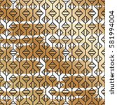 pattern with creative geometric ...   Shutterstock .eps vector #581994004
