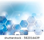 abstract square geometric... | Shutterstock .eps vector #582016639