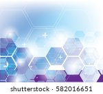 abstract square geometric... | Shutterstock .eps vector #582016651