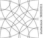 cellular grid  mesh pattern... | Shutterstock . vector #582023311