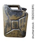 Old Gasoline Canister Isolated...