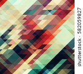 abstract triangle texture.... | Shutterstock .eps vector #582059827