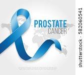 prostate cancer awareness... | Shutterstock .eps vector #582060541