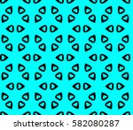 geometric shape abstract raster ... | Shutterstock . vector #582080287