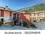 original  beautiful street in... | Shutterstock . vector #582094849
