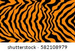 pattern texture tiger orange... | Shutterstock .eps vector #582108979