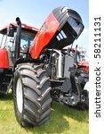 plonsk   june 12  tractor... | Shutterstock . vector #58211131