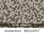 desert army camouflage pattern | Shutterstock .eps vector #582116917