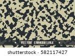 khaki camouflage | Shutterstock .eps vector #582117427