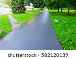 road and park | Shutterstock . vector #582120139